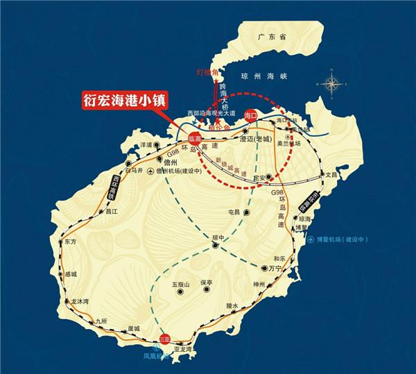 绿色生态海南 温泉养生海港小镇图片